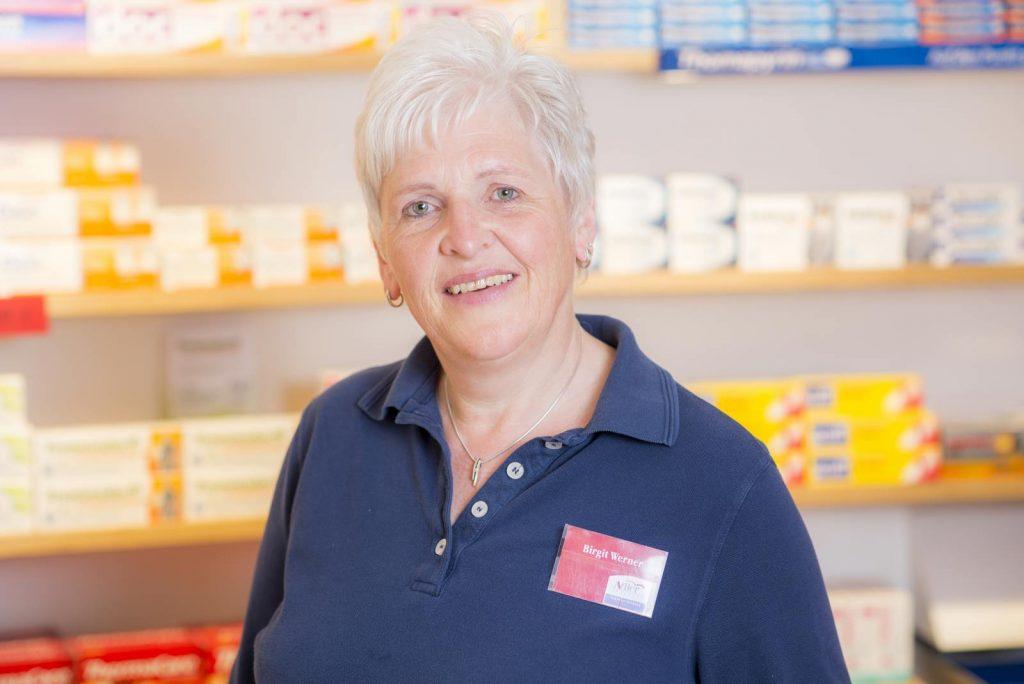 Birgit Werner, Botendienst