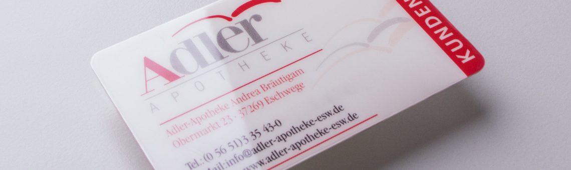 Kundenkarte Adler Apotheke Eschwege